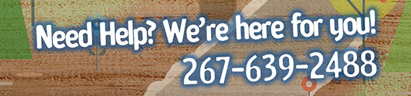 Need Help? Call us: 267-639-2488