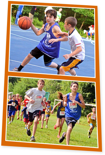 Boys's Summer Camp Athletics Activities
